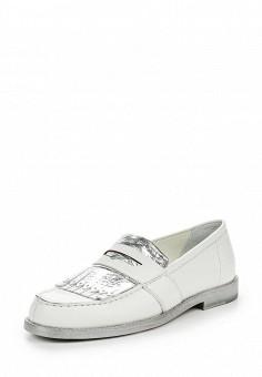 Лоферы, Barracuda, цвет: белый. Артикул: BA056AWPTD62. Премиум / Обувь / Туфли