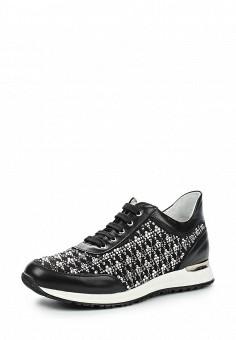 Кроссовки, Baldinini, цвет: черный. Артикул: BA097AWPUX39. Премиум / Обувь / Кроссовки и кеды / Кроссовки