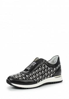 Кроссовки, Baldinini, цвет: черный. Артикул: BA097AWPUX40. Премиум / Обувь / Кроссовки и кеды / Кроссовки