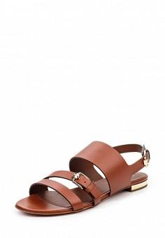 Сандалии, Baldinini, цвет: коричневый. Артикул: BA097AWPUX79. Женская обувь