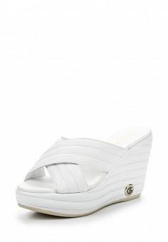 Сабо, Baldinini, цвет: белый. Артикул: BA097AWPUX87. Женская обувь