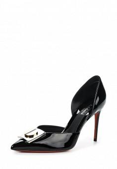 Туфли, Baldinini, цвет: черный. Артикул: BA097AWPUX95. Женская обувь