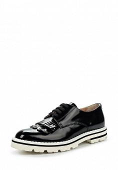 Ботинки, Baldinini, цвет: черный. Артикул: BA097AWPUY31. Женская обувь