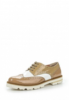 Ботинки, Baldinini, цвет: бежевый. Артикул: BA097AWPUY32. Женская обувь