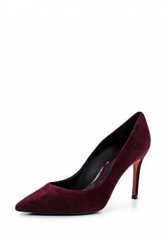Туфли, Baldinini, цвет: бордовый. Артикул: BA097AWTBZ16. Женская обувь