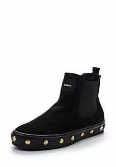 Слипоны, Baldinini, цвет: черный. Артикул: BA097AWTCB31. Женская обувь