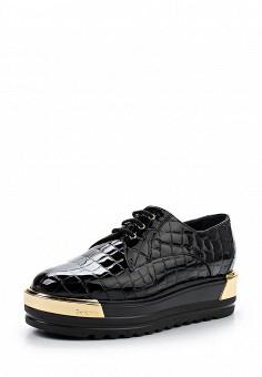 Ботинки, Baldinini, цвет: черный. Артикул: BA097AWTCB43. Женская обувь