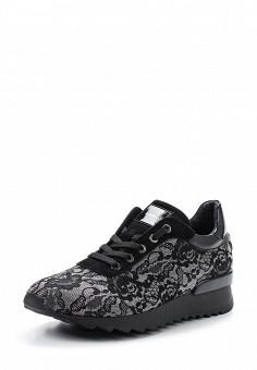 Кроссовки, Baldinini, цвет: черный. Артикул: BA097AWTCB64. Женская обувь