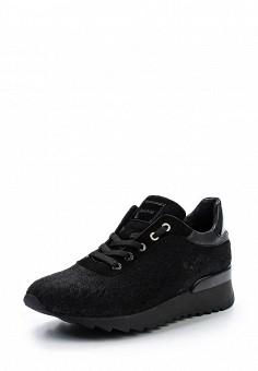 Кроссовки, Baldinini, цвет: черный. Артикул: BA097AWTCB65. Женская обувь