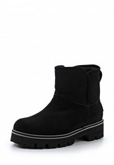 Ботинки, Baldinini, цвет: черный. Артикул: BA097AWTCB73. Женская обувь