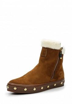 Ботинки, Baldinini, цвет: коричневый. Артикул: BA097AWTCB84. Женская обувь