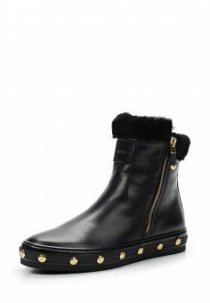 Ботинки, Baldinini, цвет: черный. Артикул: BA097AWTCB85. Женская обувь