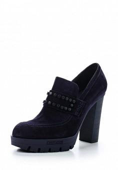 Ботильоны, Baldinini, цвет: синий. Артикул: BA097AWTCB95. Женская обувь
