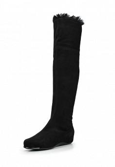 Ботфорты, Baldinini, цвет: черный. Артикул: BA097AWTCC01. Женская обувь