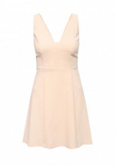 Платье, BCBGeneration, цвет: бежевый. Артикул: BC528EWPZM32. Премиум / Одежда / Платья и сарафаны