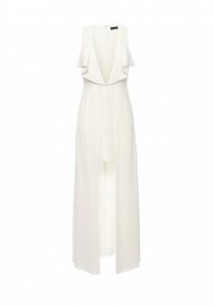 Платье, BCBGMaxAzria, цвет: белый. Артикул: BC529EWQBH59. Женская одежда / Платья и сарафаны / Вечерние платья