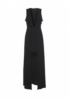 Платье, BCBGMaxAzria, цвет: черный. Артикул: BC529EWQBH61. Женская одежда / Платья и сарафаны / Вечерние платья