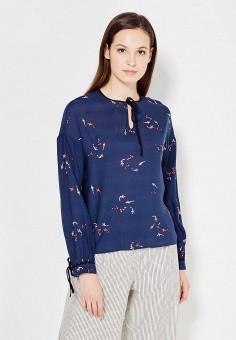 Блуза, Befree, цвет: синий. Артикул: BE031EWUXS18. Befree