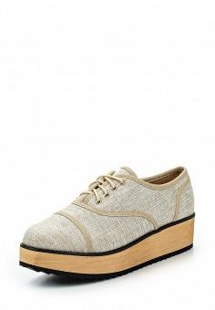 Ботинки, BelleWomen, цвет: бежевый. Артикул: BE060AWSHJ30. Женская обувь / Ботинки
