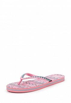 Сланцы, Beppi, цвет: розовый. Артикул: BE099AWQAA35. Женская обувь / Шлепанцы и акваобувь