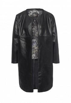 Куртка кожаная, Blouson, цвет: черный. Артикул: BL033EWQGN41. Премиум