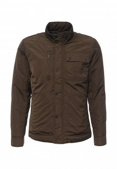 Куртка утепленная, Burton Menswear London, цвет: коричневый. Артикул: BU014EMNSJ95. Мужская одежда / Верхняя одежда