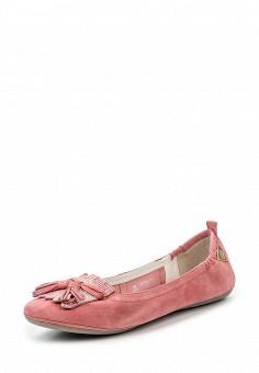 Балетки, Bugatti, цвет: розовый. Артикул: BU182AWOKP27.