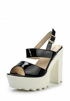 Босоножки, Catisa, цвет: черный. Артикул: CA072AWTFO57. Женская обувь / Босоножки