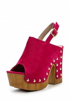 Босоножки, Catisa, цвет: фуксия. Артикул: CA072AWTFO66. Женская обувь / Босоножки