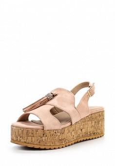 Босоножки, Catisa, цвет: розовый. Артикул: CA072AWTFO69. Женская обувь / Босоножки