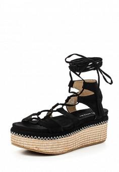 Босоножки, Catisa, цвет: черный. Артикул: CA072AWTFO87. Женская обувь / Босоножки
