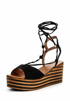 Босоножки, Catisa, цвет: черный. Артикул: CA072AWTFP07. Женская обувь / Босоножки