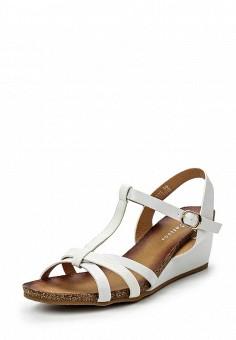 Босоножки, Catisa, цвет: белый. Артикул: CA072AWTFP27. Женская обувь / Босоножки