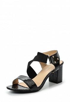 Босоножки, Catisa, цвет: черный. Артикул: CA072AWTFQ02. Женская обувь / Босоножки