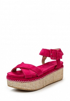Босоножки, Catisa, цвет: фуксия. Артикул: CA072AWTFQ05. Женская обувь / Босоножки