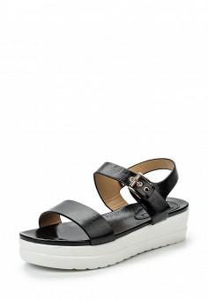 Босоножки, Catisa, цвет: черный. Артикул: CA072AWTFQ10. Женская обувь / Босоножки
