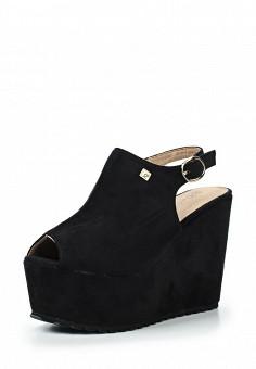 Босоножки, Catisa, цвет: черный. Артикул: CA072AWTOT70. Женская обувь / Босоножки