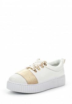 Кеды, Chic Nana, цвет: белый. Артикул: CH039AWTLL69. Женская обувь / Кроссовки и кеды