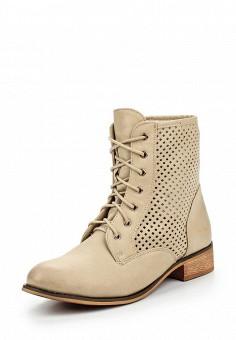 Ботинки, Chasse, цвет: бежевый. Артикул: CH040AWPSJ31. Женская обувь / Ботинки