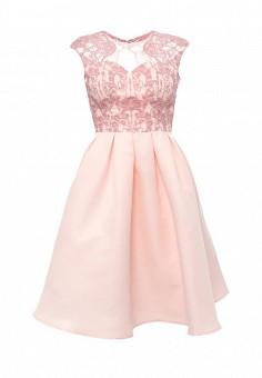 Платье, Chi Chi London, цвет: розовый. Артикул: CH041EWSKU27. Женская одежда / Платья и сарафаны / Летние платья
