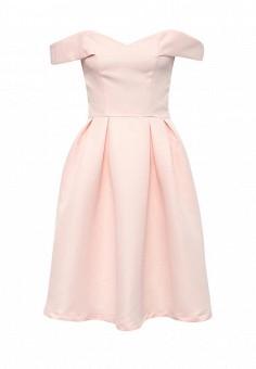 Платье, Chi Chi London, цвет: розовый. Артикул: CH041EWSKU28. Женская одежда / Платья и сарафаны / Летние платья