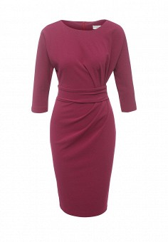 Платье, City Goddess, цвет: фуксия. Артикул: CI009EWRAE87. Женская одежда / Платья и сарафаны / Офисные платья