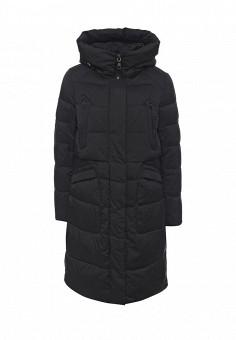 Куртка утепленная, Clasna, цвет: черный. Артикул: CL016EWNLX55. Женская одежда / Верхняя одежда / Пуховики и зимние куртки
