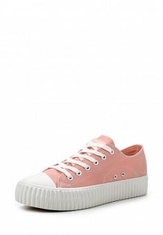 Кеды, Coolway, цвет: розовый. Артикул: CO047AWRWR35. Женская обувь / Кроссовки и кеды