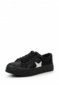 Кеды, Coolway, цвет: черный. Артикул: CO047AWRWR39. Женская обувь / Кроссовки и кеды