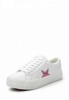 Кеды, Coolway, цвет: белый. Артикул: CO047AWRWR42. Женская обувь / Кроссовки и кеды