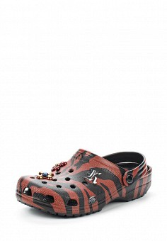 Сабо, Crocs, цвет: коричневый. Артикул: CR014AWVCV28. Премиум / Обувь / Сандалии