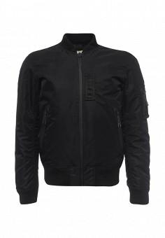 Пуховик, Denim & Supply Ralph Lauren, цвет: черный. Артикул: DE023EMOWK82. Мужская одежда / Верхняя одежда / Пуховики и зимние куртки