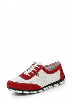 Кроссовки, Destra, цвет: красный. Артикул: DE030AWQZO84. Женская обувь / Кроссовки и кеды / Кроссовки