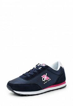 Кроссовки, Dixer, цвет: синий. Артикул: DI028AWPQX94. Женская обувь / Кроссовки и кеды / Кроссовки